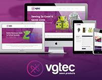 Vgtec Sewn Products Website & Branding