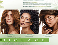 L'Oreal / Matrix — Biolage Brochure & Card