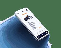 Harley Davidson Apps UI IDEA