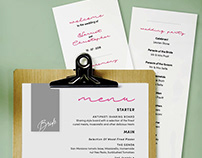 Selfe Wedding Stationery