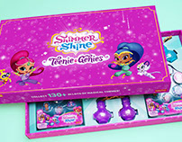 Teenie Genies Toy Packaging