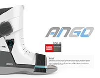 ANGO-recovery boot for ankle injury