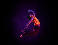 Advertising, Retouching Jazz 101 Dance Institute