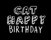 Cat Happy Birthday: The birth of the Drypoint Cat Film