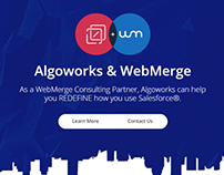 WebMerge and Algoworks partnership