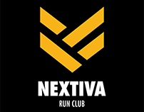 Nextiva Run Club T-Shirt Design