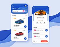 Car Rental App Design