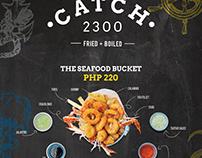 Menu Board - Catch 2300
