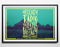 Mercury Radio Theater Gig Poster