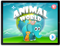Animal World - iOS App