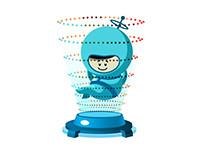 Mascot for Appedia
