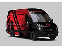Speed Demon Van Wrap