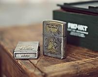 Filter017 X SARU HKT Custom Vintage Zippo Lighter