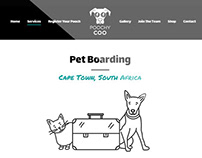 Poochy Coo Website Design
