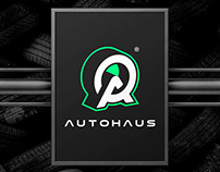 AUTOHAUS / TIRES & SERVICES / Brand Identity