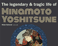 Minamoto Yoshitsune Infograph