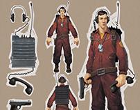 Military signalman