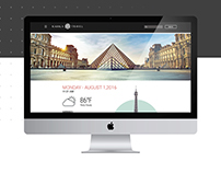 Travel Website Re-Design