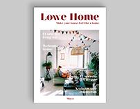 LOWE HOME magazine