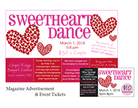 Sweetheart Dance Advertisements