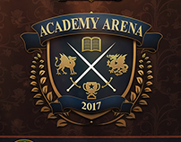 Academy Arena Logo and Key Art