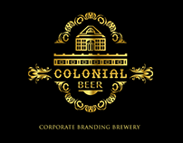 COLONIAL BEER Corporate Branding