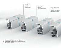 Lichtkuppeln und Profilentwicklung