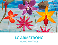 L.C. Armstrong. Island Paintings. Exhibition catalogue.