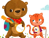 Camp with Me ABC Baby Book