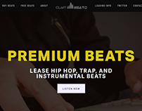 CLMT Beatz Web Design