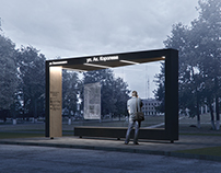 "BUS STOP ""FRAME"""