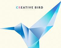 Geometric Logo / Creative Bird