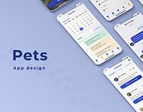 Pets App Design