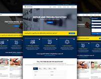 Electrician & Repairing template
