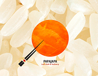 BRANDING_PapaJapa - Let's Roll & Delivery