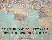 Top 5 Cryptocurrency Investors