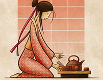 Red, Tea Ceremony