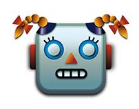girlfriend for that emoji babyrobot from apple keyboard