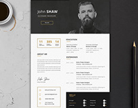 Gemini Resume Template