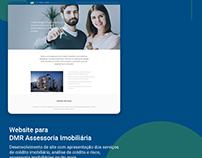 Website para DMR Assessoria Imobiliária