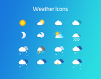 Weather Icons Design