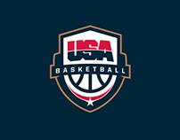 USA Basketball logo