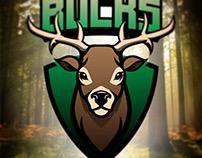 Bucks. Logo mark.