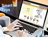 E-commerce Website Educational Toys