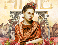 "Illustration AIME BIJOUX ""frida"""
