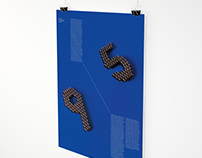 """9-to-5"" — Modular Typographic Poster"