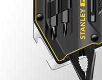 Stanley works - Multi tool & Holster design