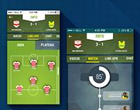 Nigerian Premier league concept app