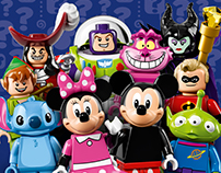 LEGO Minifigures Series Disney