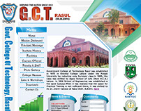 Govt. College of Technology Rasul Webpage